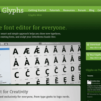フォント作成の救世主か?Glyphs2.0ベータ公開。リーズナブルなフォントソフト