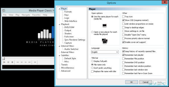 Media Player Classic Free For PC