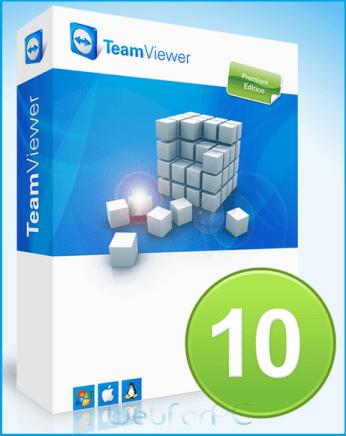 TeamViewer 10 Logo