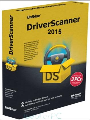 Uniblue Driver Scanner 2015 Logo