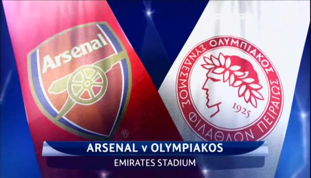 Arsenal Vs Olympiakos-Uefa Champions League-image