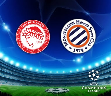 Olympiakos Vs Montpellier- Uefa Champions League-image