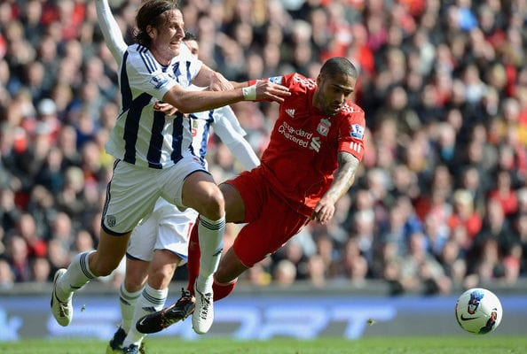 Liverpool Vs West Bromwich-Premier League-image