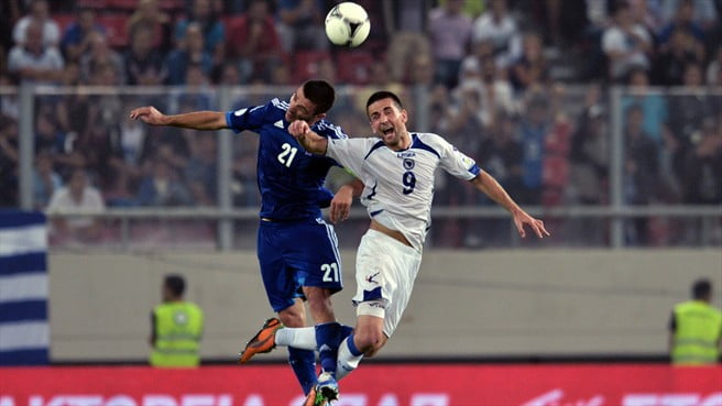 Bosnia Vs Greece-World Cup Qualifiers-image