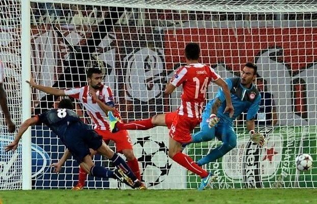 paris saint germain vs olympiakos-uefa champions league-image