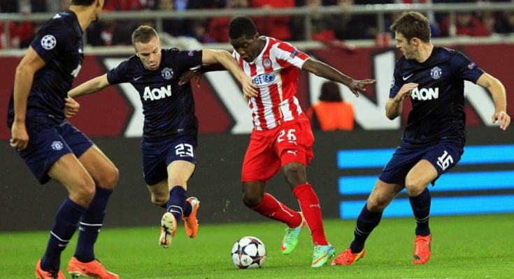 manchester united vs olympiakos-uefa champions league-image