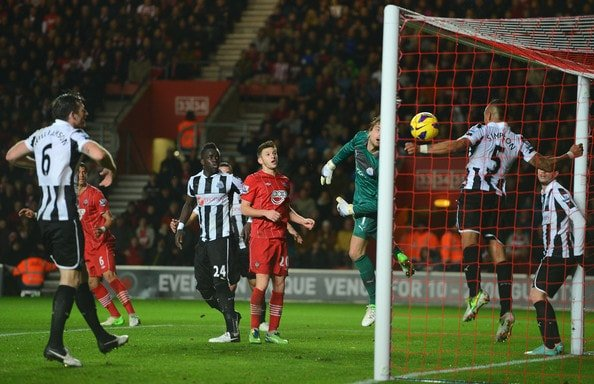 newcastle vs southampton-premier league-image