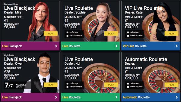 stoiximan casino live rouleta blackjack dealers