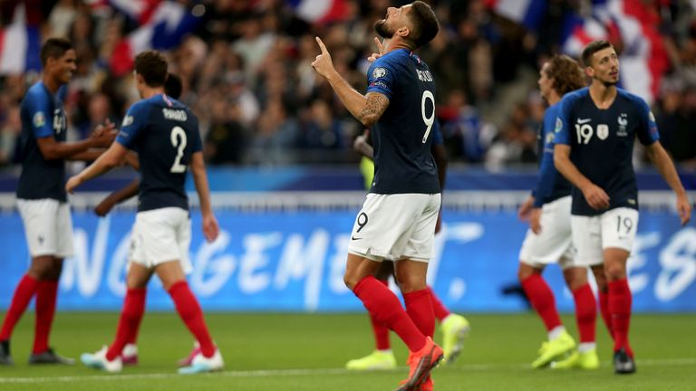 albania-france-stoixima-prognostika-euro 2020 qualification