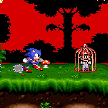 Play Sonic The Hedgehog 4 SNES Hack On SNES Emulator