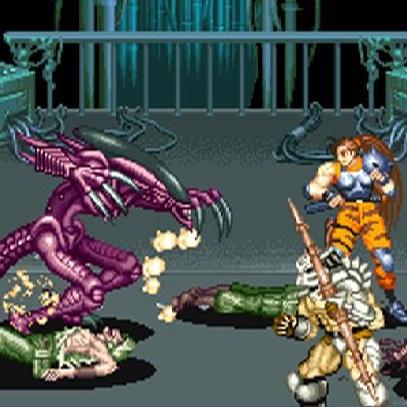 Play Alien Vs Predator On CPS2 Emulator Online