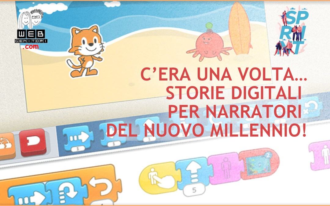 LAB gratuito: Storie digitali per narratori del nuovo millennio