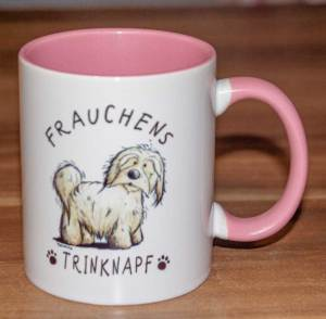 Frauchens Trinknapf Kaffeetasse