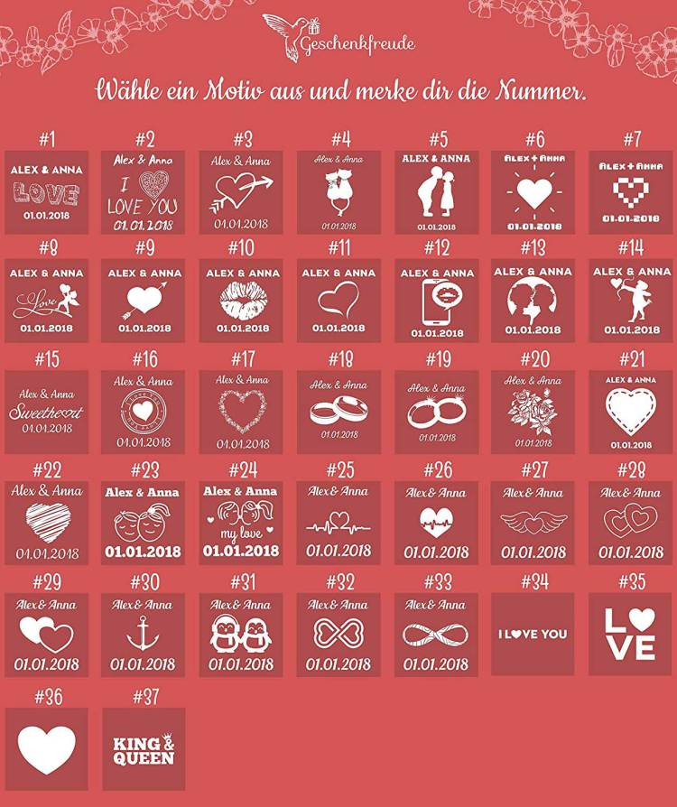 Symbole für Liebesschloss