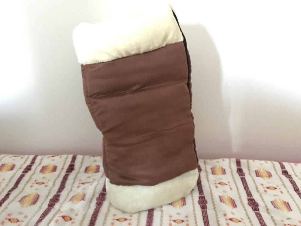 珍しいトンネル型の寝袋
