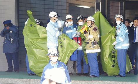 霞が関-警視庁で70代男性が割腹自殺か?警察官は軽症