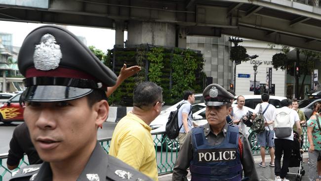 タイ警察は24人が負傷と発表が負傷