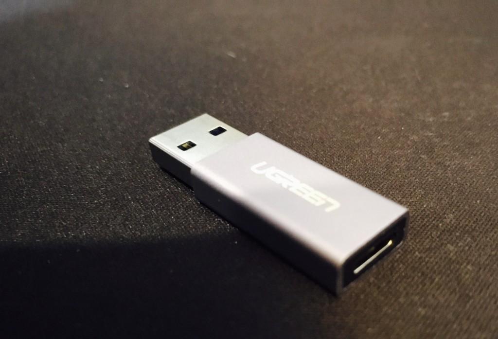 USB TypeAのみでもTypeCが使えるようになる変換アダプター!
