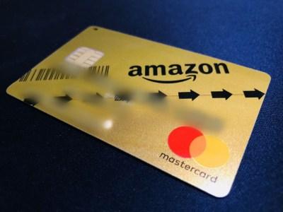 Amazonのクレジットカード、年会費も割引でゴールドカード到着!