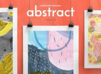 Beautiful Abstract Watercolor Textures PNG & JPG Images