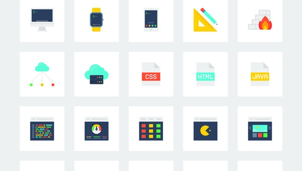Free Icon Set For Web Developers