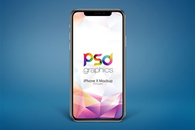 iPhone X PSD Mockups Free Download