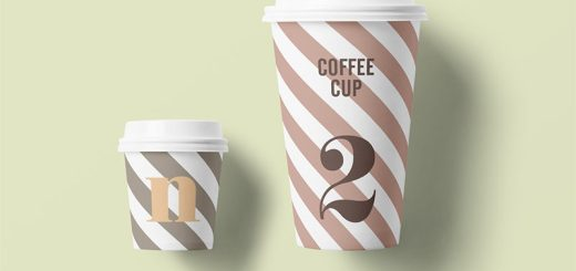 Paper Cup Mockup Free Download