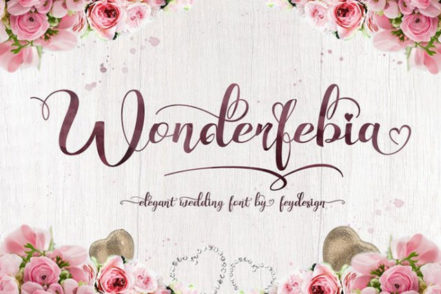 Wedding Fonts Download