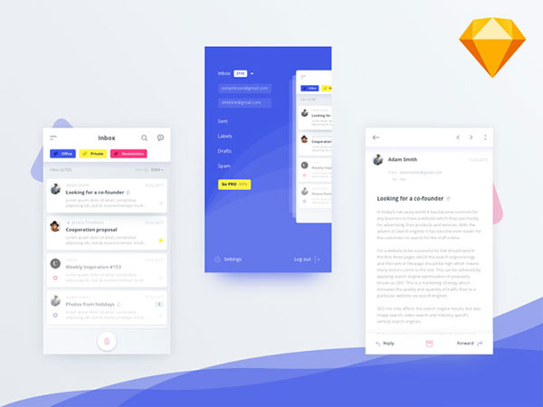 Mobile UI Templates