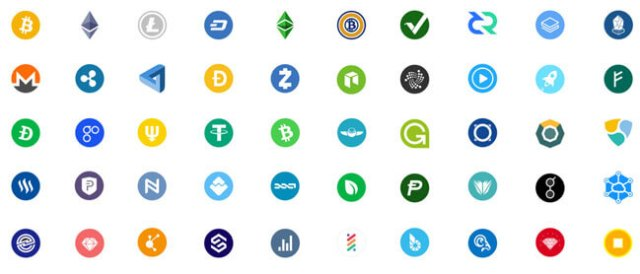 free cryptocurrency icon