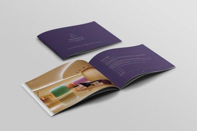 Best Hotel Tri-Fold Brochure Templates
