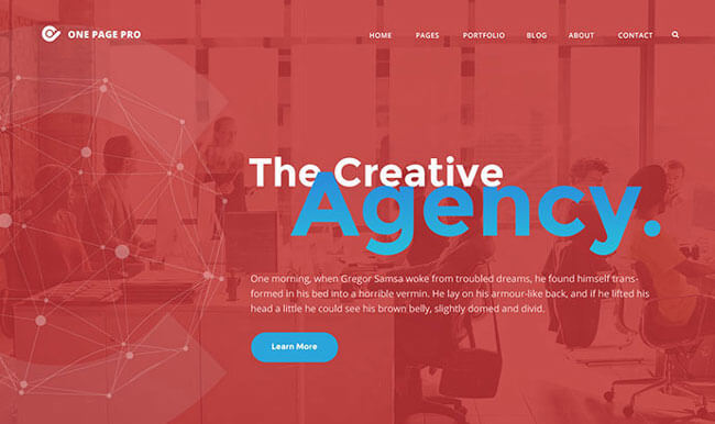 wordpress creative agency theme