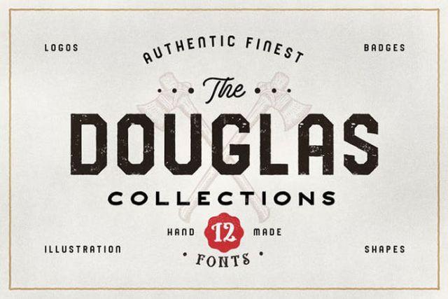 vintage fonts 2018