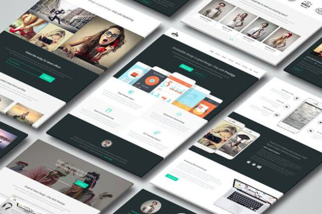 minimal design templates