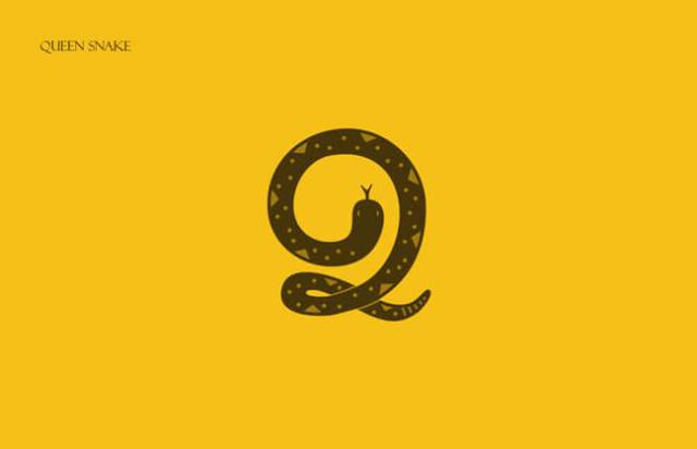 Snake Clever Alphabetical Logos