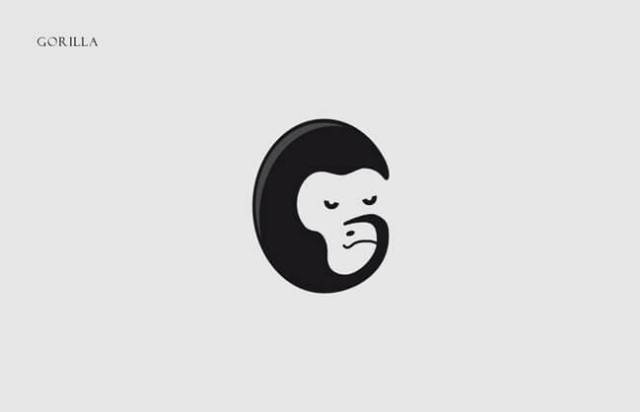 Gorilla Clever Alphabetical Logos