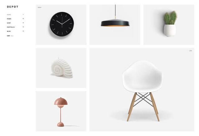 wordpress theme for creative artist