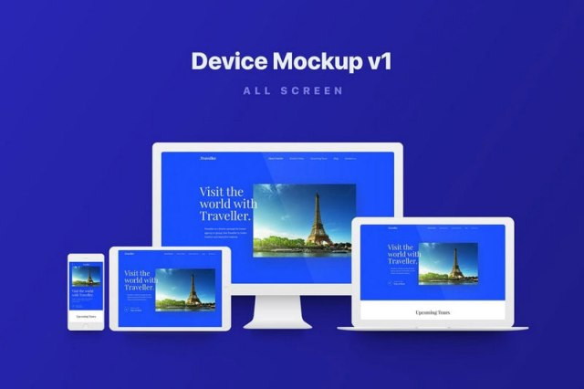 apple all device mockups