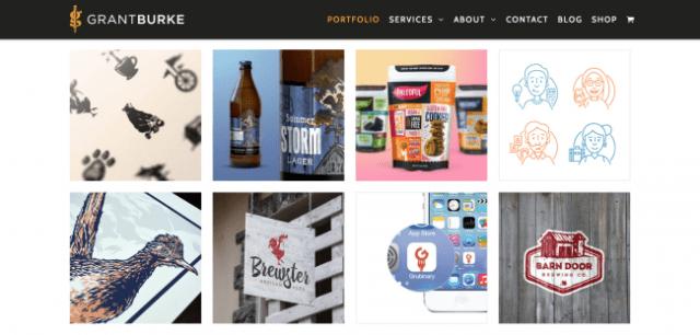 Graphic Designers Portfolio Websites