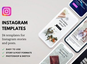 Free Instagram Stories and Posts Template
