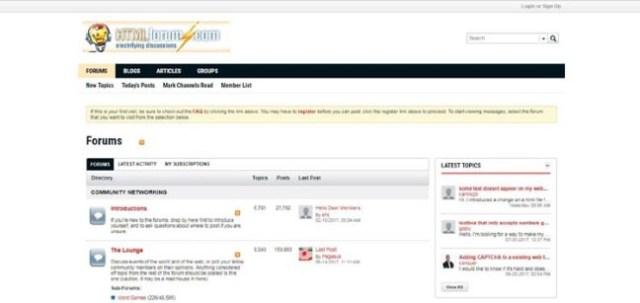 Best Forums For Web Developers