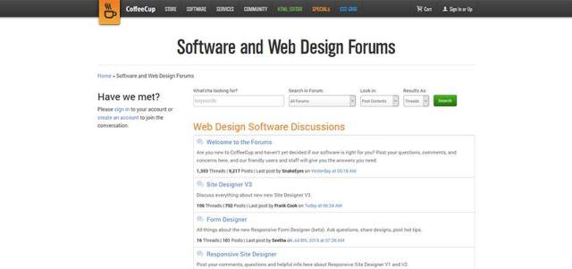 best forum for designers