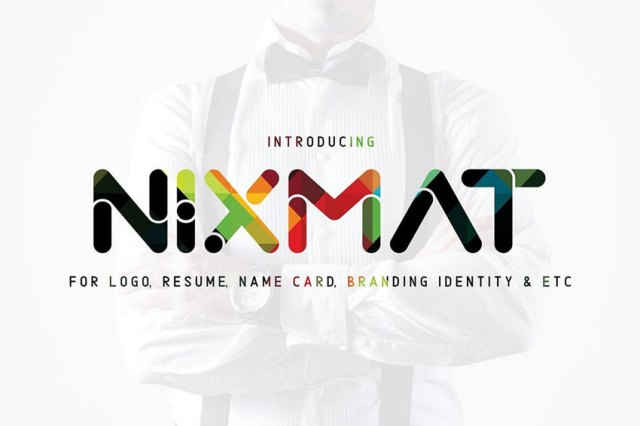 creative font for logo design