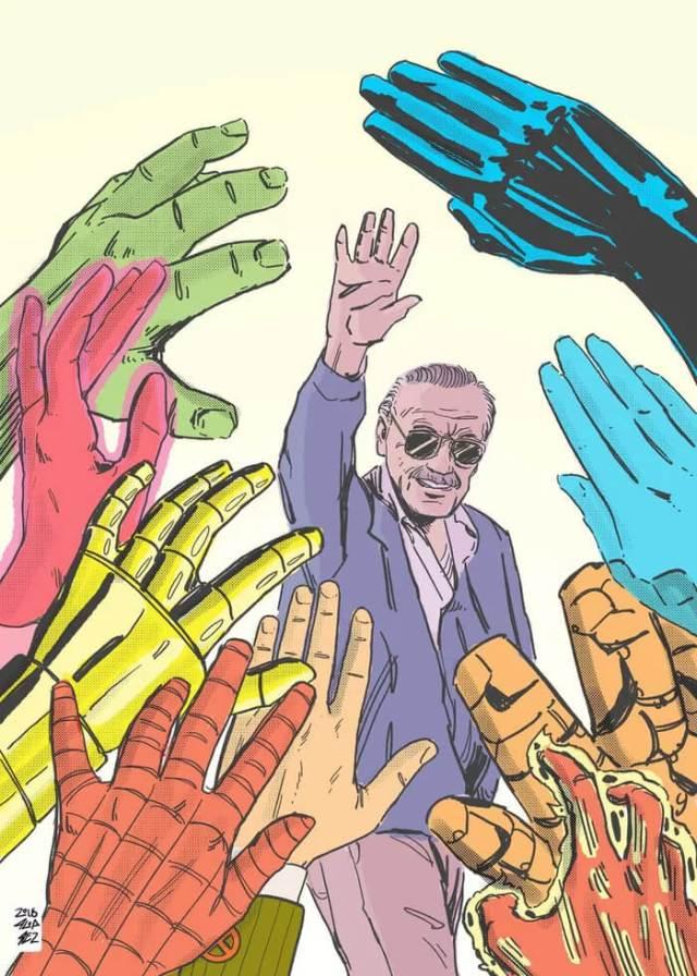 Art Tribute To Stan Lee