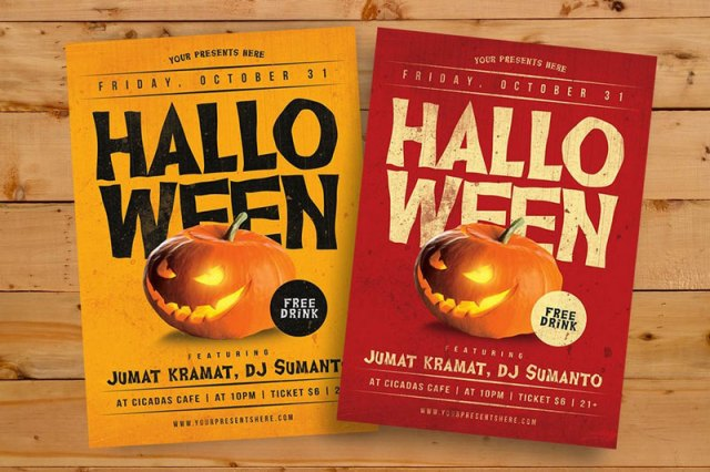 Best Halloween Flyer Templates