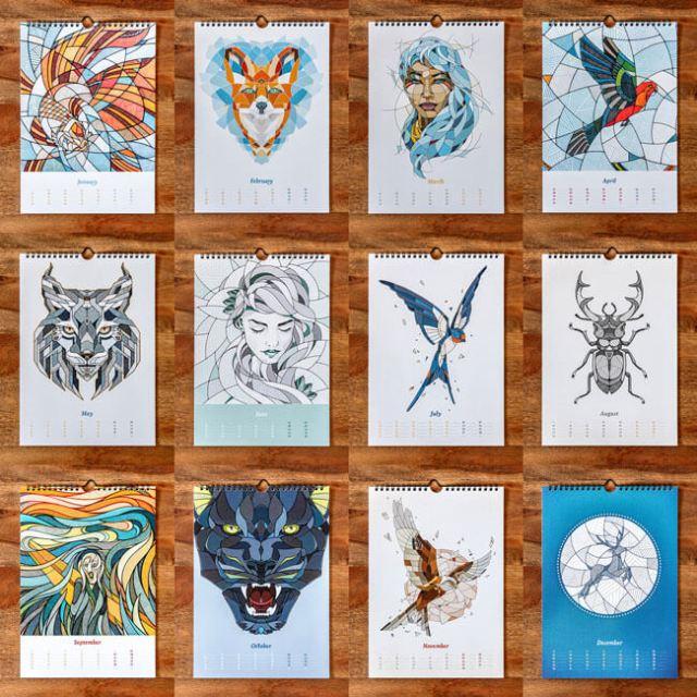 Art Calendar Design Ideas