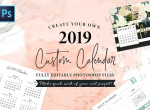 Stylish Calender Templates 2019