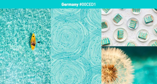 Germany Most popular color in 2019