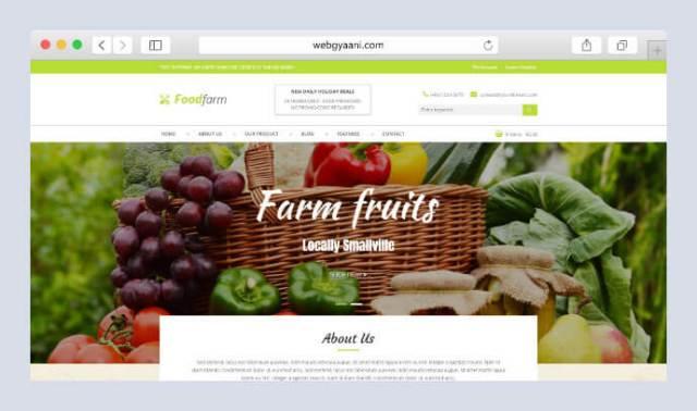 farm service wordpress theme
