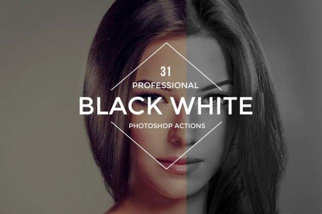 Best Black & White Photoshop Actions